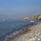 The beach in Arvi, Iraklion