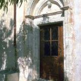 The portal of the Panagia, Agios Georgios and Agios Ioannis Church, Epano Episkopi