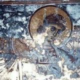 A fresco in the Panagia Church, Kissos