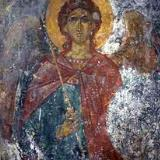 A fresco in Agii Apostoli Church in Andromili, Lithines