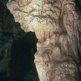 Stalactites and stalagmites in the Sendoni Cave, Zoniana