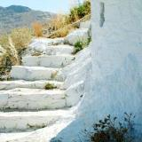 Foot path to Chora