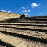 Paistow, ancient theater. Built in 2000 BC and repaired in 1700 BC