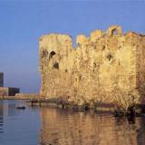 Methoni; part of the castle