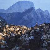 The traditional mountain village of Olympos