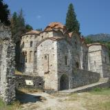 Church of Odigitria (Afentiko) at Mystras, 14th century