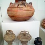 Mycenaean pottery from the cemetery of chamber tombs in the area of the Archaeological Museum. 15th-12th centuries BC