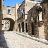 Medieval City of Rhodes: Odos Ippoton (Knights' Street)