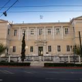 The historic Arsakeion, built between 1846 and 1852, housed the first boarding school of girls in Greece.