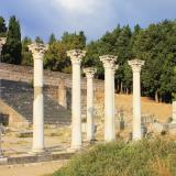 Roman temple, built in Corinthian style, propably dedicated to Apollo